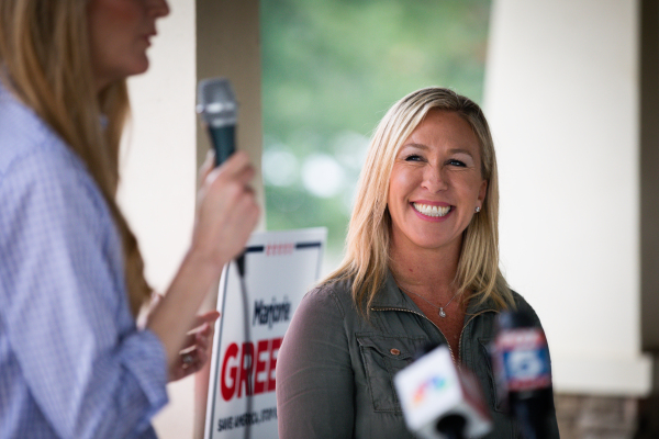 A QAnon supporter is headed to Congress – TechCrunch