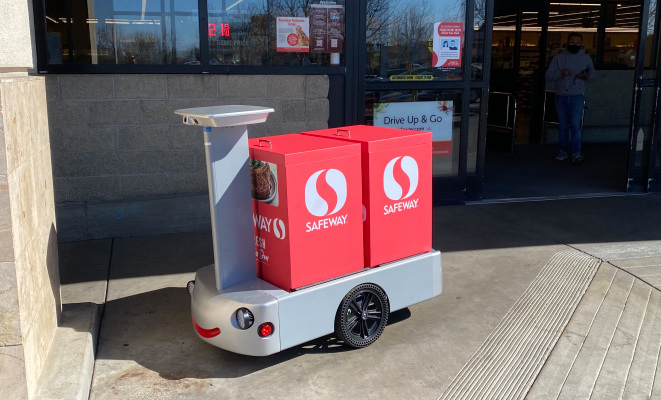 Albertsons taps Tortoise for remote-controlled grocery delivery robots – TechCrunch