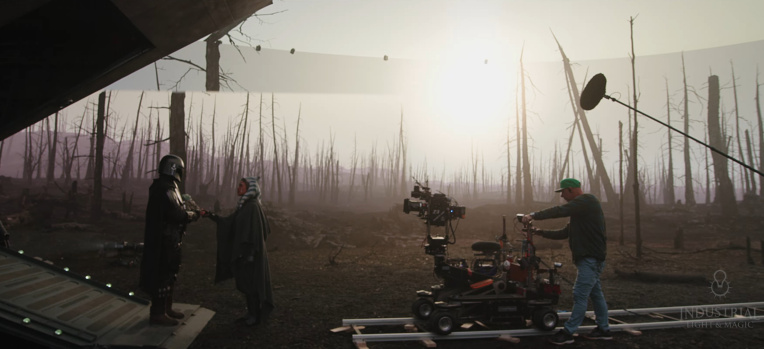 ILM shows off the new Stagecraft LED wall used for season 2 of 'The Mandalorian' – TechCrunch
